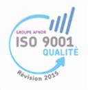 Logo de la révision de la norme ISO9001